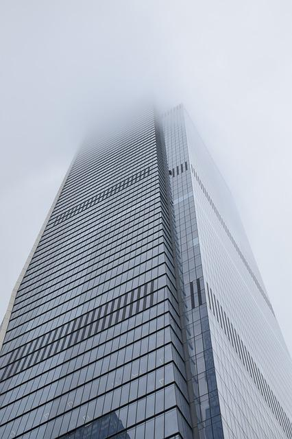 In New York City, Manhattan, Usa, Skyscraper