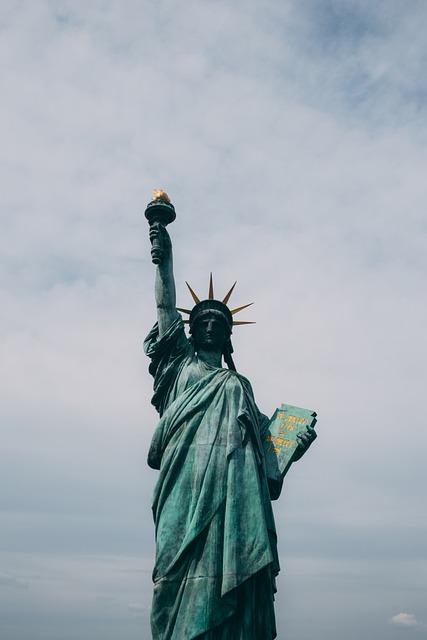 Landmark, Manhattan, New York, Sculpture, Statue