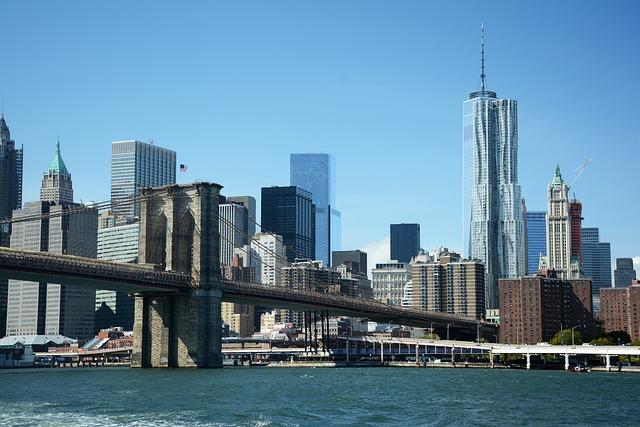 New York, Brooklyn, Bridge, Cityscape, Manhattan