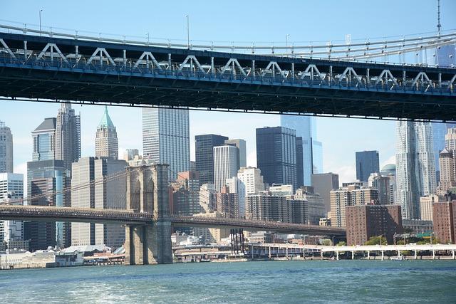 New York, Brooklyn, Manhattan, River