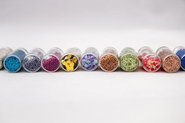 Jars, Tinsel, Capacity, Manicure, Ornament, Jewelry