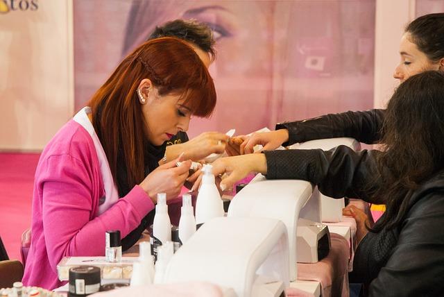 Expocosmética, Model, Women, Gel Nails, Manicure