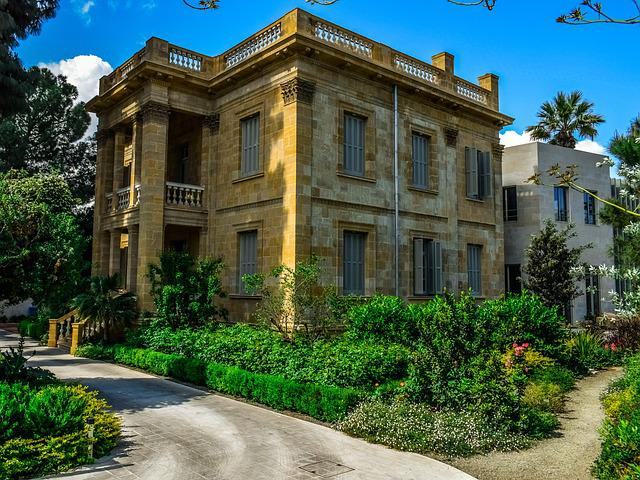Architecture, Neoclassic, House, Mansion, Building