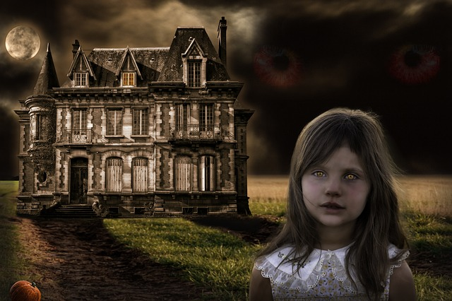 Halloween, Mansion, Chilling, Mystery, Fear