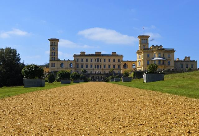 Isle Of Wight, House, Manor, Osborne, Exterior, Mansion
