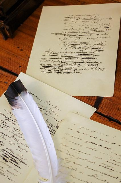Manuscript, Pen, Document, Paper, Written Language