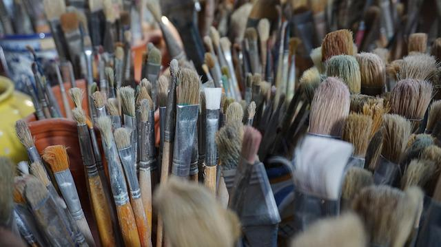 Many Brushes, Variation, Oil