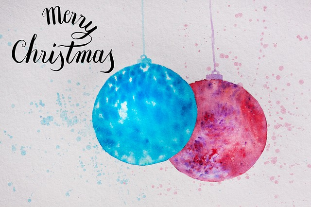 Christmas, Map, Ball, Christmas Ornament, Turquoise
