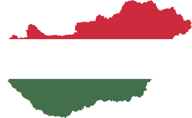 Hungary, Country, Europe, Flag, Borders, Map, Nation