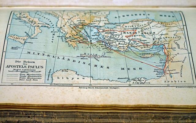 Map, Map Of The World, Old, Country, Travel