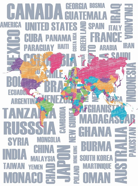 Countries, Map Of The World, World, Parts