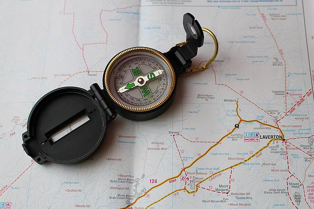 Compass, Map, Navigation, Western Australia