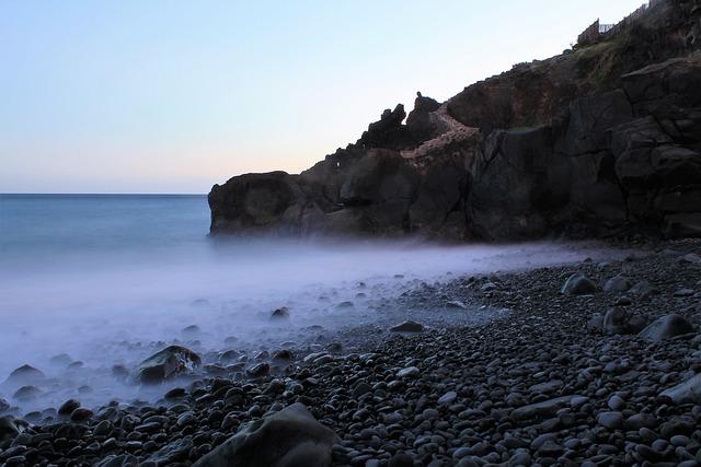Mar, Sunset, Beach, Beira Mar