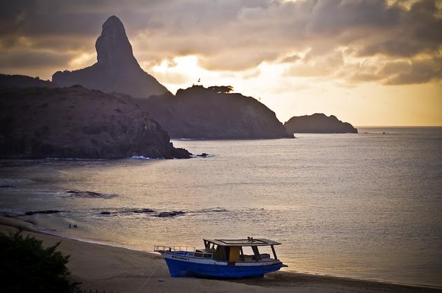 Body Of Water, Mar, Sunset, Costa