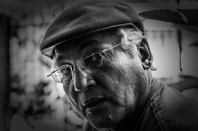 Man, Male, Black And White, Older, Senior, Maracaibo