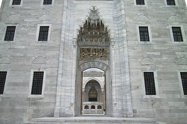Süleymaniye, Cami, Marble, City center, Istanbul