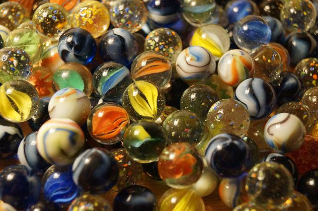 Marbles, Balls, Glass Ball, Glass Marbles, Colorful