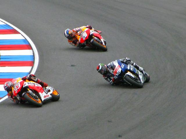 Marc Marquez, Jorge Lorenzo, Dani Pedrosa, Honda