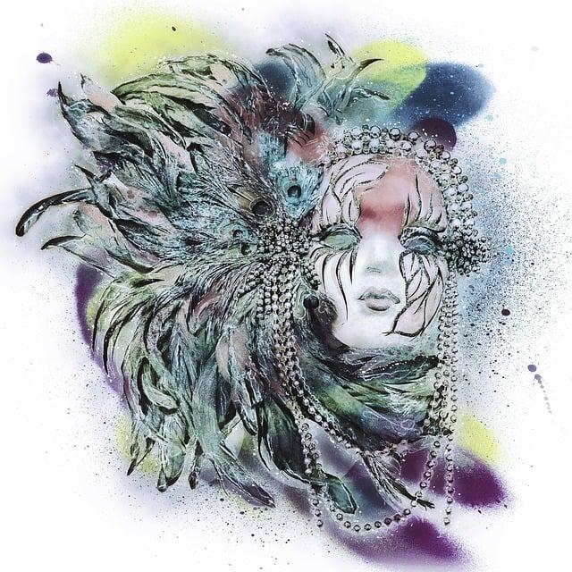 Mardi Gras, Mask, Colorful, Feathers, Party, Mardi