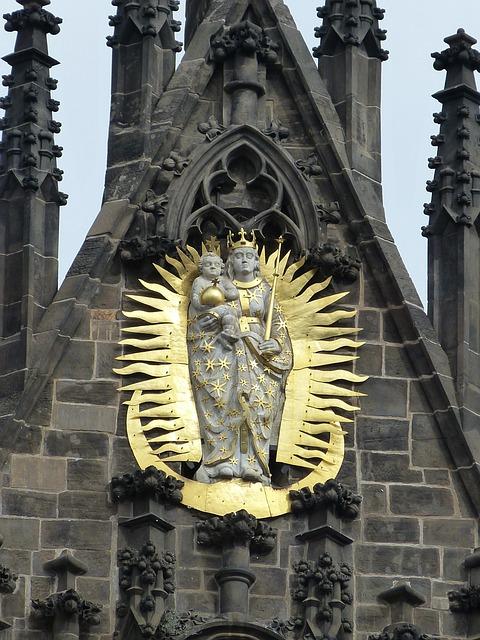 Maria, Prague, Czech Republic, Capital, Old Town