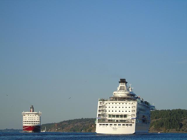 Ferries, Ferry, Cruise, Stockholm, Finland, Mariehamn