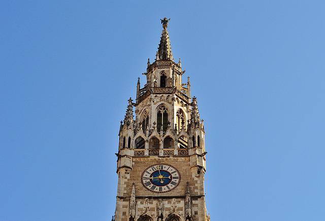 Town Hall, Clock Tower, Munich, Marienplatz