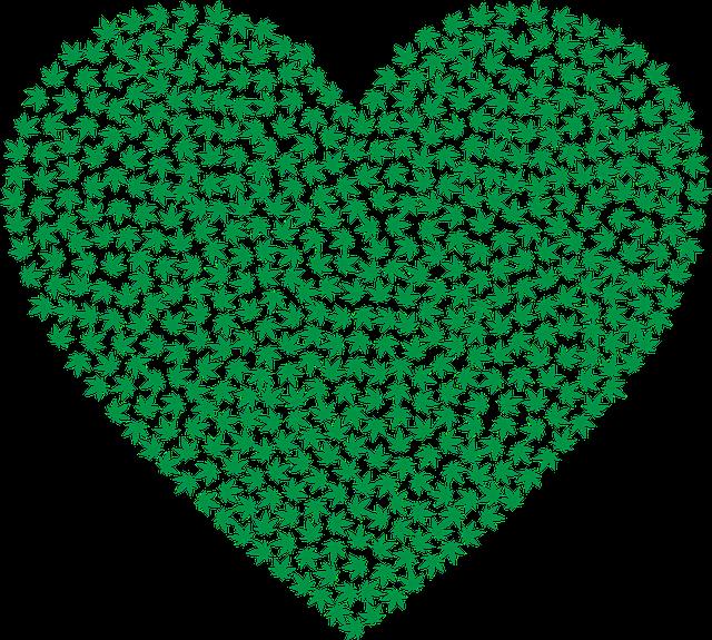Marijuana, Heart, Cannabis, Drug, Hemp, Leaf, Plant