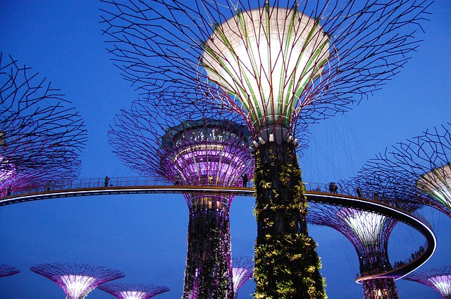 Gardens By The Bay, Marina Bay, Singapore, Sculpture