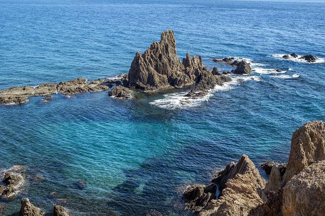 Landscape, Sea, Reef, Beach, Marina, Costa