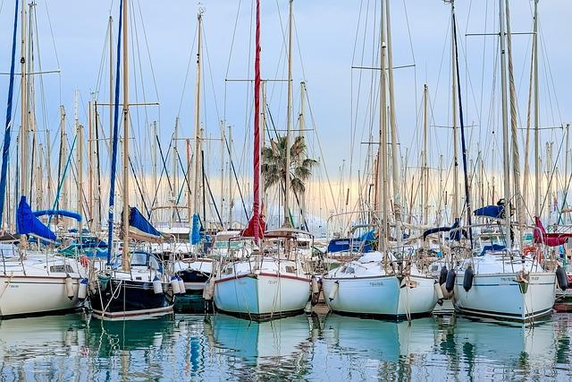 Mallorca, Palma De Mallorca, Marina, Sailing Boat