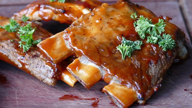 Meat, Ribs, Eat, Grilled, Marinated, Food, Delicious