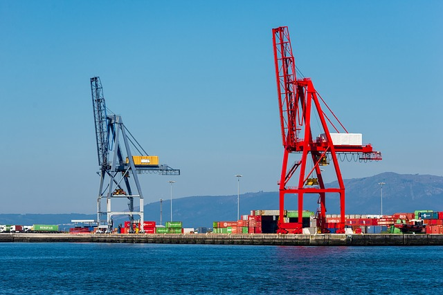 Port, Cranes, Containers, Maritime, Maritime Transport