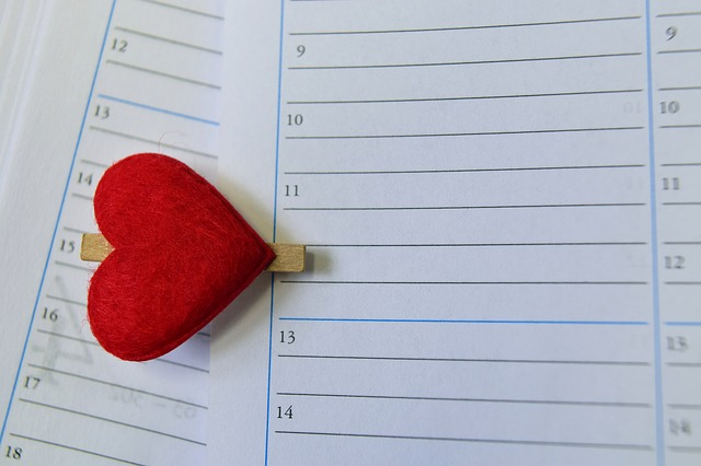 Calendar, Time, Love, Date, Time Of, Appointment, Mark