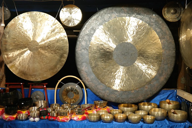 Gong, Singing Bowls, Mark Up Idiot, Self Tönendes