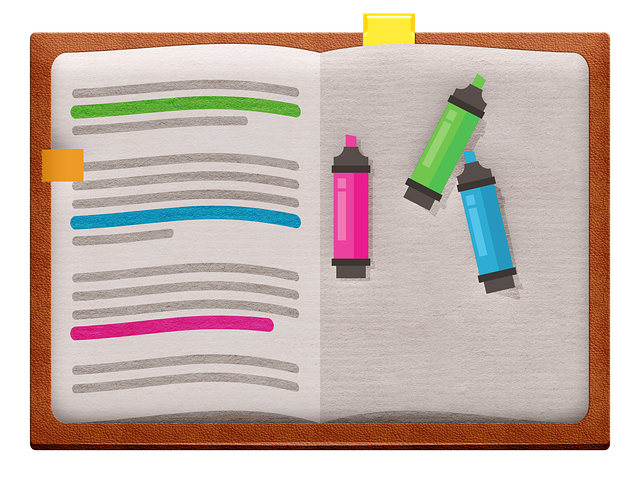Leather Book, Markers, Read, Books, Highlighters