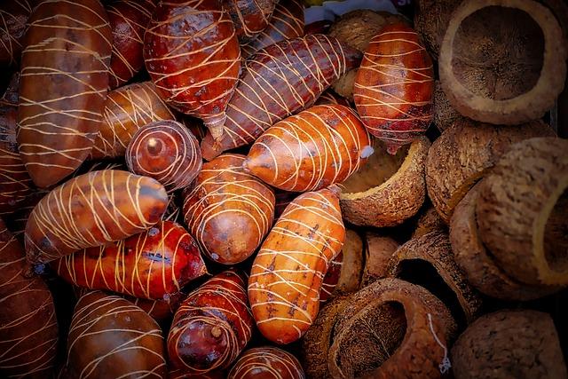 Food, Background, Close, Market, Nature, Nutshells