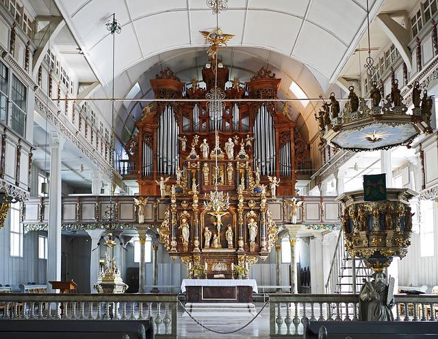Sanctuary, Wooden Church, Market Church