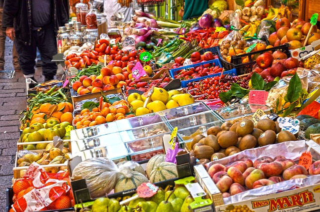 Market, Sell, Stall, Retail, Marketplace, Fruit, Bazar