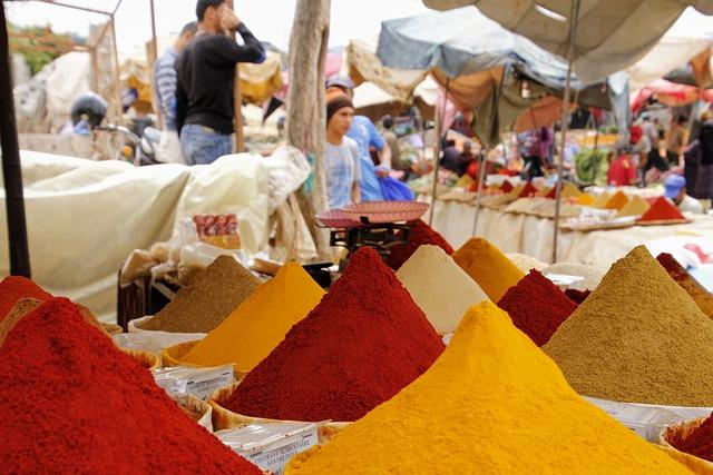 Market, Spices, Oriental, Color, Nutrition, Food