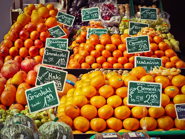 Fruit, Fruit Stand, Fruits, Market Stall, Healthy, Food