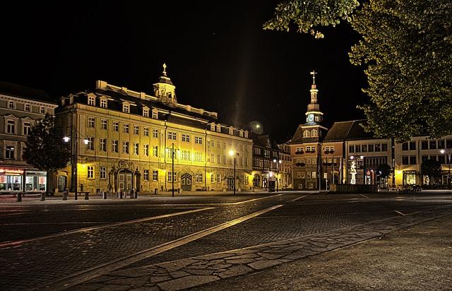 Eisenach, Market, Thuringia Germany, Marketplace