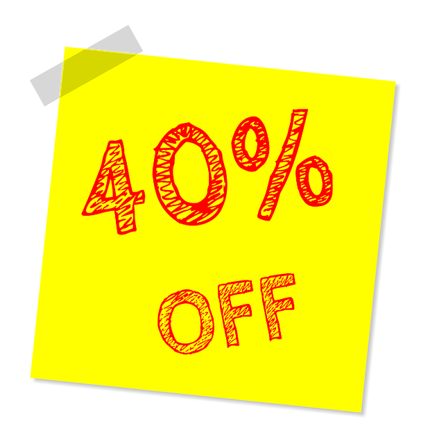 Forty Percent Off, Discount, Sale, Offer, Marketing
