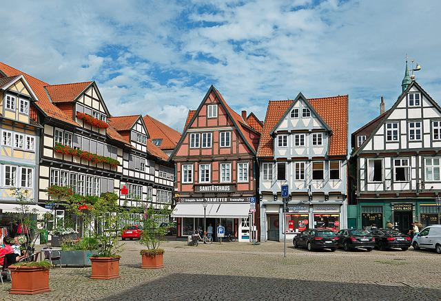 Marketplace, Celle, Truss, Historically, Architecture