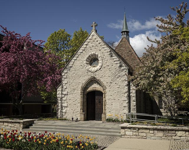 Architectural, Marquette University, Joan Of Arc Chapel