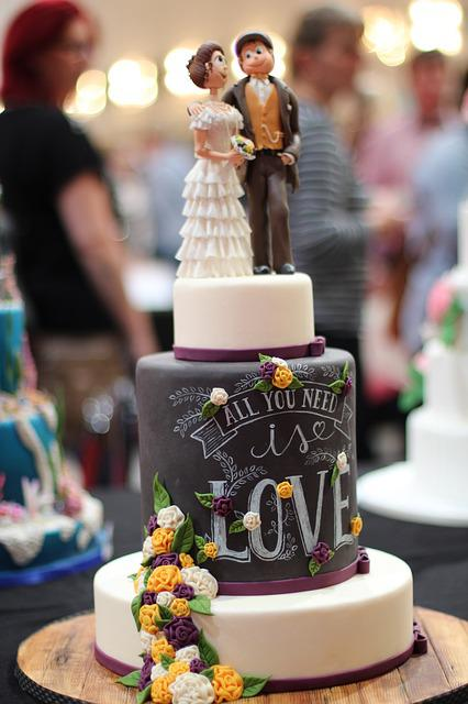 Cake, Wedding Cake, Marry, Sweet, Love Is All You Need