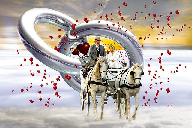 Wedding, Coach, Love, Heart, Marry, Wedding Day, Rings