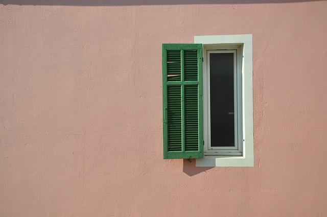 Marseille, Provence, South Of France, France, Window