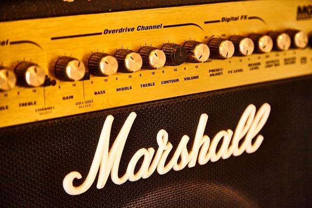 Music, Marshall, Amplifier, Amp, Verstärker