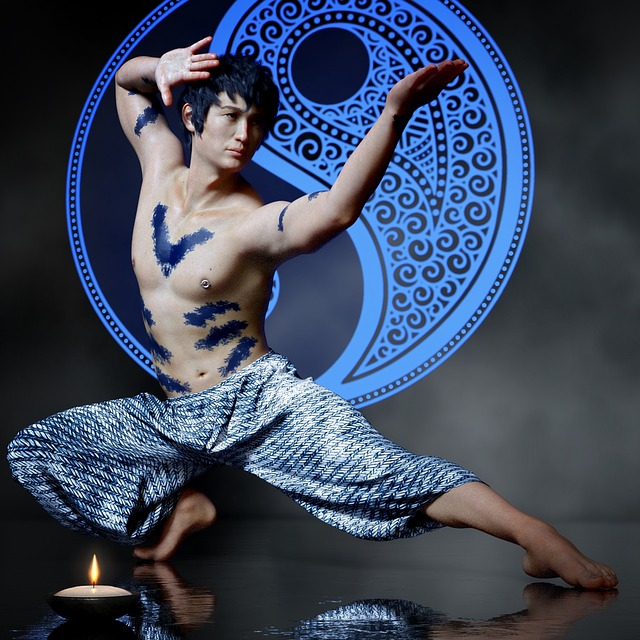 Asian, Martial Arts, Body Painting, Karate, Sporty