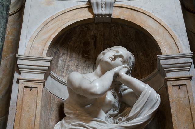 Bernini, Mary Magdalene, Woman, Sculpture, Dom, Siena